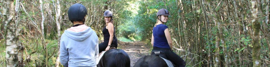 horse riding trail ireland