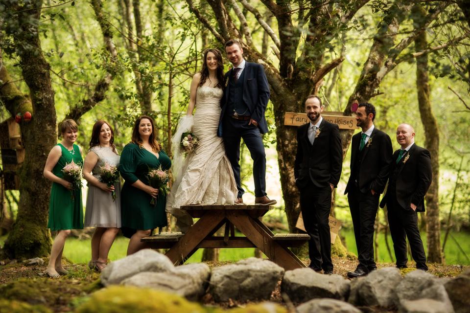 outdoor wedding Galway