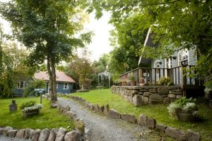eco-lodges at Slieve Aughty Centre